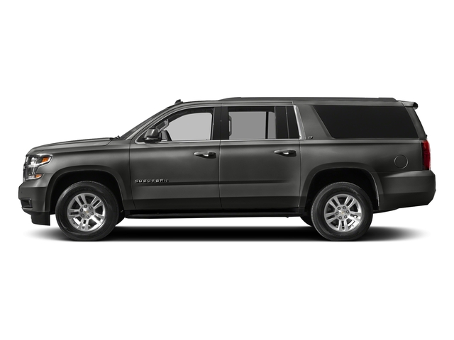 Tungsten Metallic 2018 Chevrolet Suburban Pictures Suburban 4WD 4dr 1500 LT photos side view