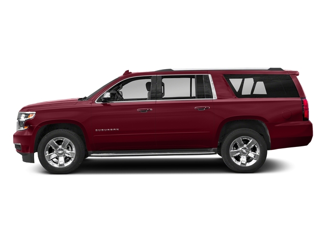 Siren Red Tintcoat 2018 Chevrolet Suburban Pictures Suburban 2WD 4dr 1500 Premier photos side view