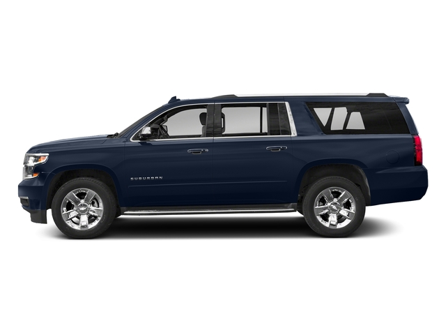 Blue Velvet Metallic 2018 Chevrolet Suburban Pictures Suburban 2WD 4dr 1500 Premier photos side view