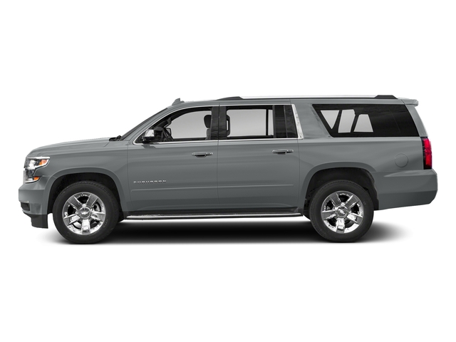 Satin Steel Metallic 2018 Chevrolet Suburban Pictures Suburban 2WD 4dr 1500 Premier photos side view