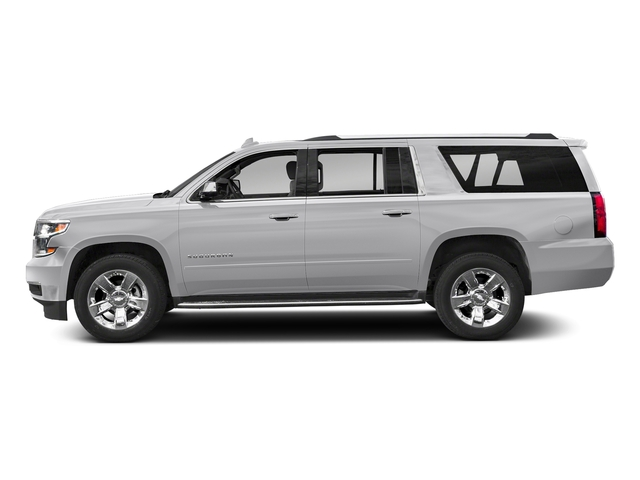 Silver Ice Metallic 2018 Chevrolet Suburban Pictures Suburban 2WD 4dr 1500 Premier photos side view