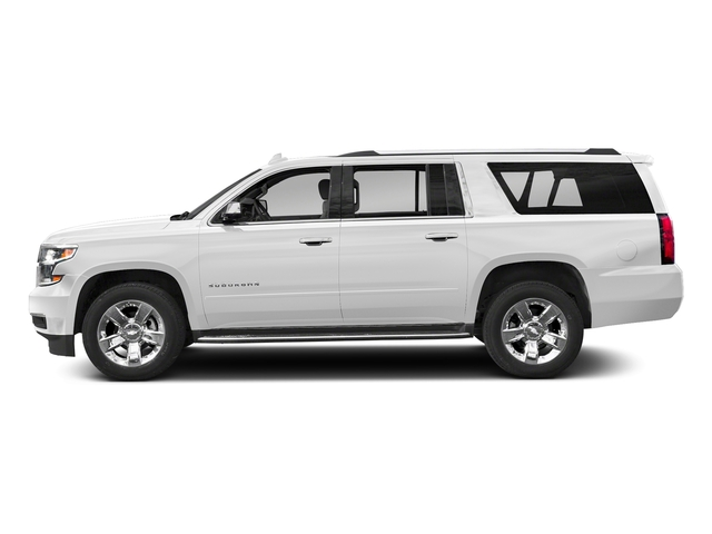 Summit White 2018 Chevrolet Suburban Pictures Suburban 2WD 4dr 1500 Premier photos side view