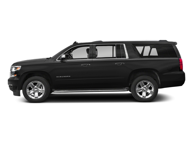 Black 2018 Chevrolet Suburban Pictures Suburban 2WD 4dr 1500 Premier photos side view