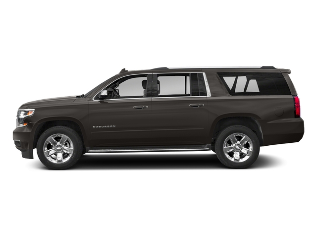 Tungsten Metallic 2018 Chevrolet Suburban Pictures Suburban 2WD 4dr 1500 Premier photos side view