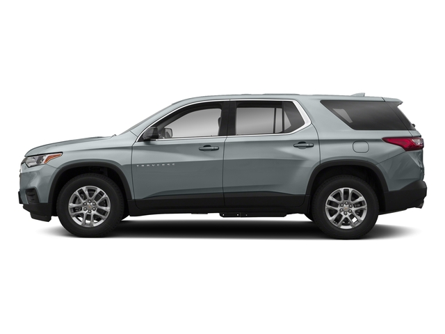 Satin Steel Metallic 2018 Chevrolet Traverse Pictures Traverse AWD 4dr LS w/1LS photos side view