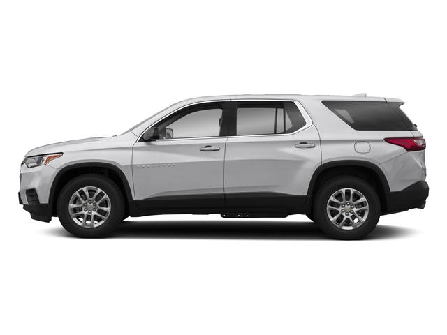 Silver Ice Metallic 2018 Chevrolet Traverse Pictures Traverse AWD 4dr LS w/1LS photos side view