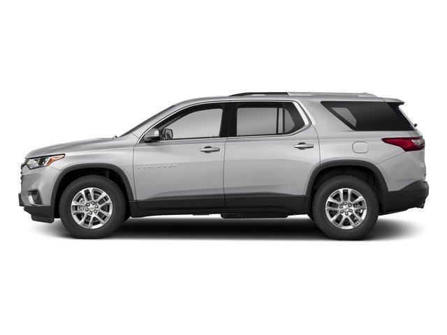 Silver Ice Metallic 2018 Chevrolet Traverse Pictures Traverse FWD 4dr LT Cloth w/2FL photos side view
