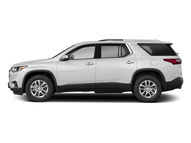 Summit White 2018 Chevrolet Traverse Pictures Traverse FWD 4dr LT Cloth w/2FL photos side view