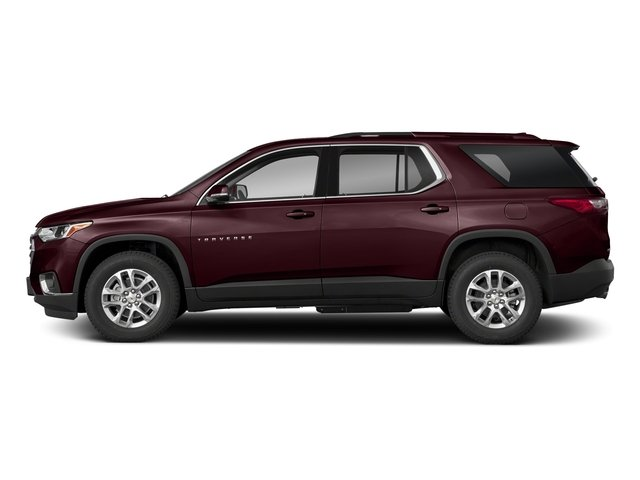 Black Currant Metallic 2018 Chevrolet Traverse Pictures Traverse AWD 4dr LT Cloth w/1LT photos side view