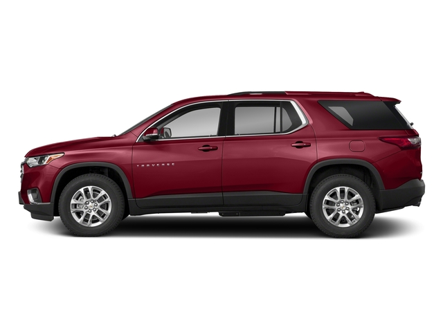 Cajun Red Tintcoat 2018 Chevrolet Traverse Pictures Traverse FWD 4dr LT Cloth w/2FL photos side view