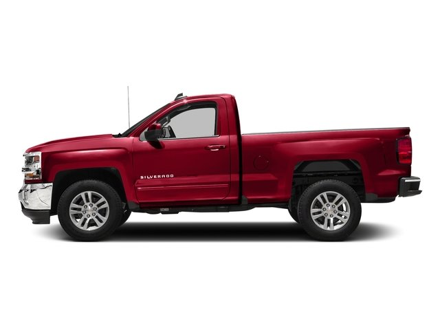 Red Hot 2018 Chevrolet Silverado 1500 Pictures Silverado 1500 4WD Reg Cab 133.0 LT w/2LT photos side view