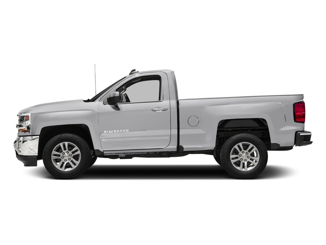 Silver Ice Metallic 2018 Chevrolet Silverado 1500 Pictures Silverado 1500 4WD Reg Cab 133.0 LT w/2LT photos side view