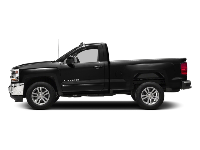 Black 2018 Chevrolet Silverado 1500 Pictures Silverado 1500 4WD Reg Cab 133.0 LT w/2LT photos side view