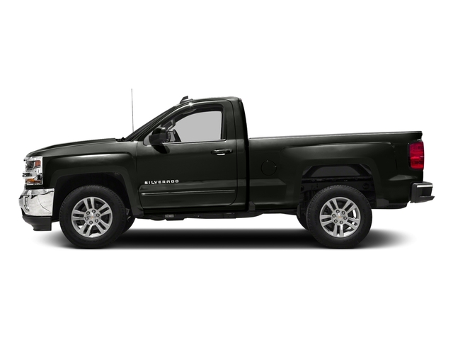 Graphite Metallic 2018 Chevrolet Silverado 1500 Pictures Silverado 1500 4WD Reg Cab 133.0 LT w/2LT photos side view