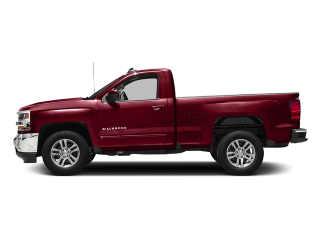 Cajun Red Tintcoat 2018 Chevrolet Silverado 1500 Pictures Silverado 1500 4WD Reg Cab 133.0 LT w/2LT photos side view