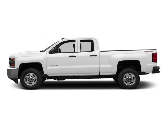 Summit White 2018 Chevrolet Silverado 2500HD Pictures Silverado 2500HD 4WD Double Cab 158.1 LT photos side view