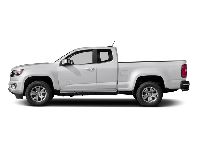 Summit White 2018 Chevrolet Colorado Pictures Colorado 4WD Ext Cab 128.3 LT photos side view