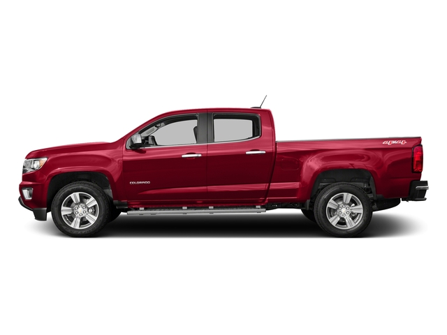 Red Hot 2018 Chevrolet Colorado Pictures Colorado 2WD Crew Cab 140.5 LT photos side view