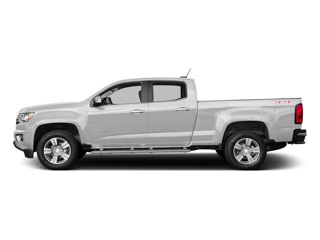 Summit White 2018 Chevrolet Colorado Pictures Colorado 2WD Crew Cab 140.5 LT photos side view