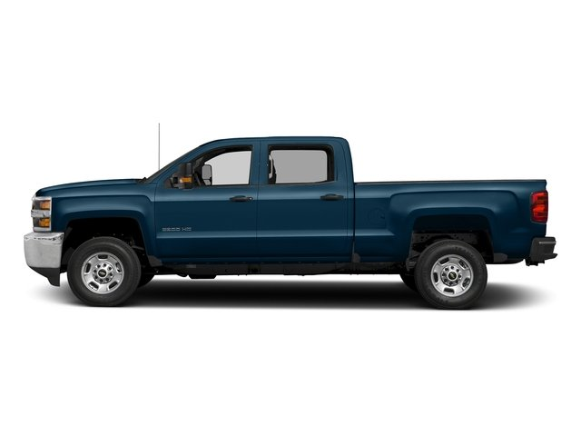 Deep Ocean Blue Metallic 2018 Chevrolet Silverado 2500HD Pictures Silverado 2500HD 4WD Crew Cab 167.7 Work Truck photos side view