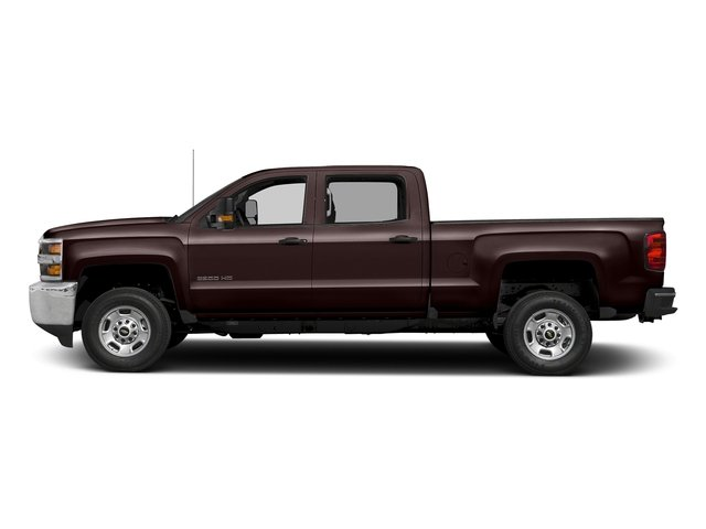 Havana Metallic 2018 Chevrolet Silverado 2500HD Pictures Silverado 2500HD 4WD Crew Cab 167.7 Work Truck photos side view