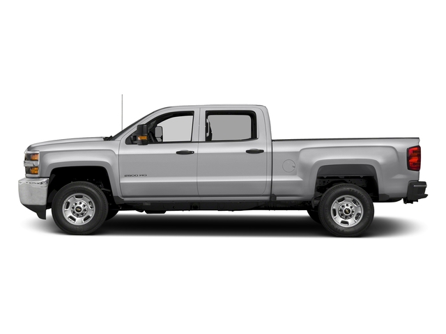 Silver Ice Metallic 2018 Chevrolet Silverado 2500HD Pictures Silverado 2500HD 4WD Crew Cab 167.7 Work Truck photos side view