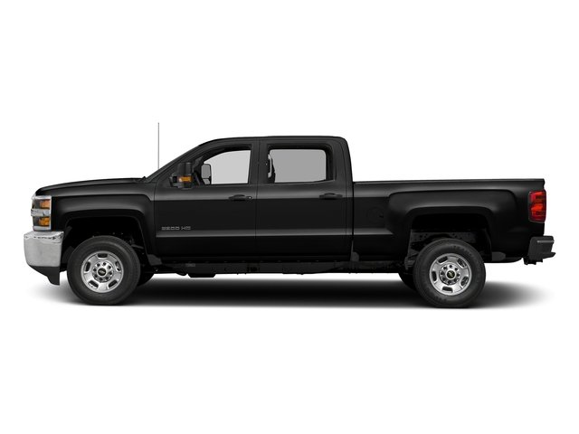 Black 2018 Chevrolet Silverado 2500HD Pictures Silverado 2500HD 4WD Crew Cab 167.7 Work Truck photos side view