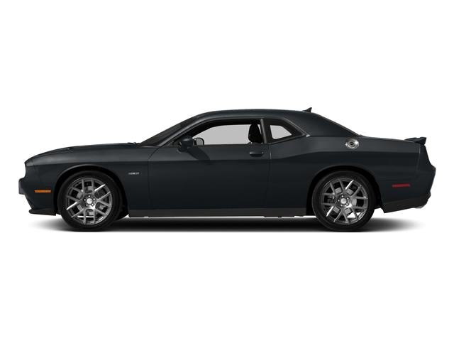 Maximum Steel Metallic Clearcoat 2018 Dodge Challenger Pictures Challenger R/T Shaker RWD photos side view