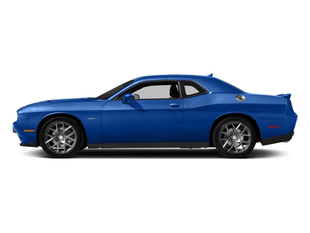 Indigo Blue 2018 Dodge Challenger Pictures Challenger R/T Shaker RWD photos side view