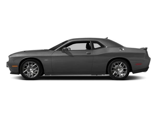 Destroyer Gray Clearcoat 2018 Dodge Challenger Pictures Challenger R/T Shaker RWD photos side view