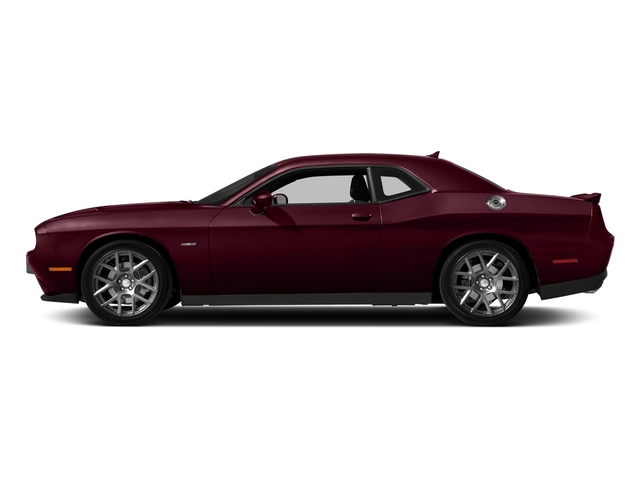 Octane Red Pearlcoat 2018 Dodge Challenger Pictures Challenger R/T Shaker RWD photos side view