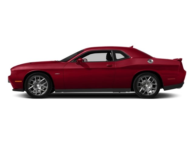Redline Red Tricoat Pearl 2018 Dodge Challenger Pictures Challenger R/T Shaker RWD photos side view