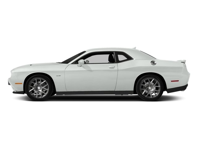 White Knuckle Clearcoat 2018 Dodge Challenger Pictures Challenger R/T Shaker RWD photos side view