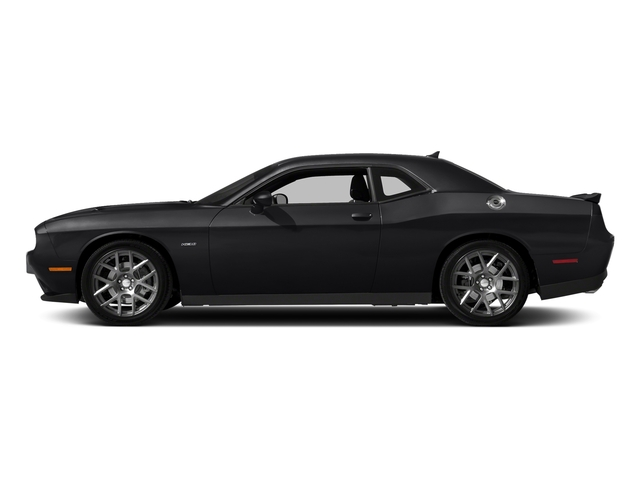 Pitch Black Clearcoat 2018 Dodge Challenger Pictures Challenger R/T Shaker RWD photos side view