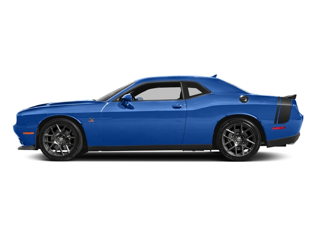 Indigo Blue 2018 Dodge Challenger Pictures Challenger R/T Scat Pack RWD photos side view
