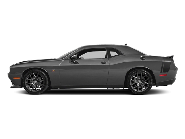 Destroyer Gray Clearcoat 2018 Dodge Challenger Pictures Challenger R/T Scat Pack RWD photos side view