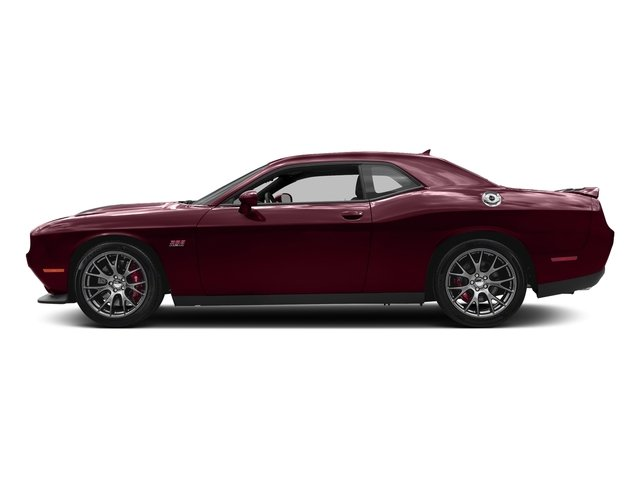 Octane Red Pearlcoat 2018 Dodge Challenger Pictures Challenger SRT 392 RWD photos side view
