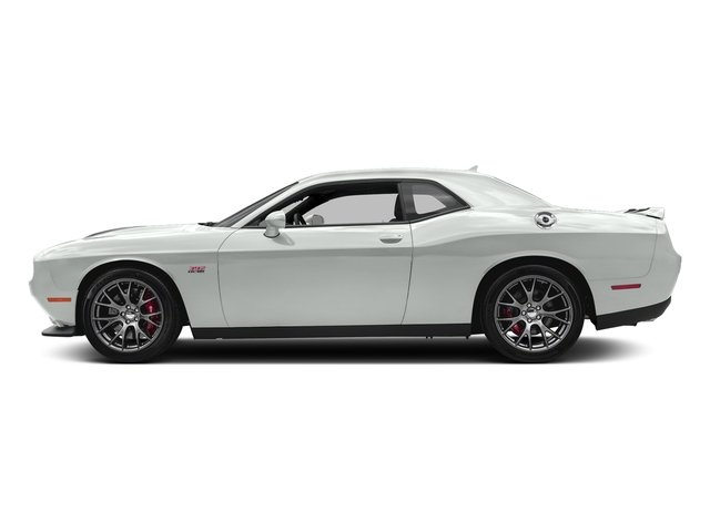 White Knuckle Clearcoat 2018 Dodge Challenger Pictures Challenger SRT 392 RWD photos side view