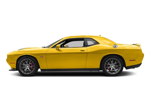 Yellow Jacket Clearcoat 2018 Dodge Challenger Pictures Challenger SRT 392 RWD photos side view