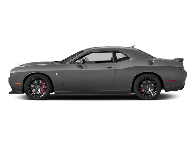 Destroyer Gray Clearcoat 2018 Dodge Challenger Pictures Challenger SRT Hellcat RWD photos side view