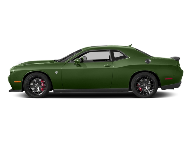 F8 Green 2018 Dodge Challenger Pictures Challenger SRT Hellcat RWD photos side view