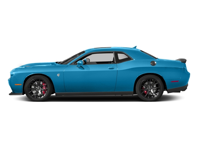 B5 Blue Pearlcoat 2018 Dodge Challenger Pictures Challenger SRT Hellcat RWD photos side view