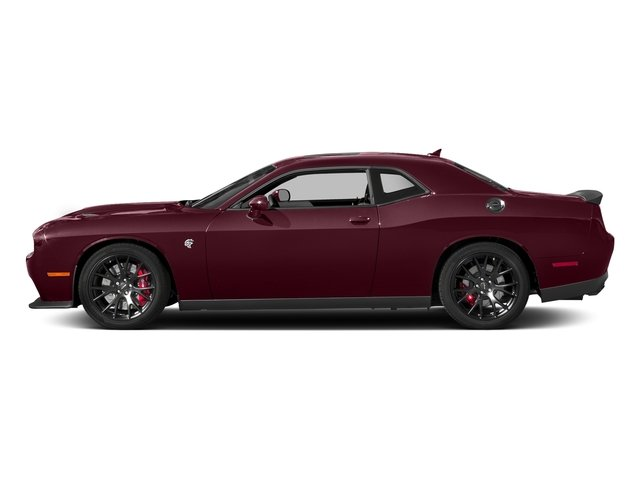 Octane Red Pearlcoat 2018 Dodge Challenger Pictures Challenger SRT Hellcat RWD photos side view