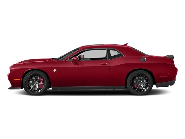 Redline Red Tricoat Pearl 2018 Dodge Challenger Pictures Challenger SRT Hellcat Widebody RWD photos side view