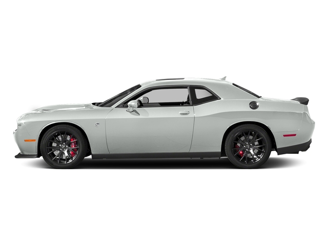 White Knuckle Clearcoat 2018 Dodge Challenger Pictures Challenger SRT Hellcat RWD photos side view