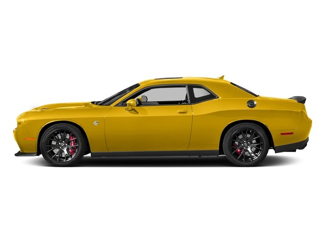 Yellow Jacket Clearcoat 2018 Dodge Challenger Pictures Challenger SRT Hellcat RWD photos side view