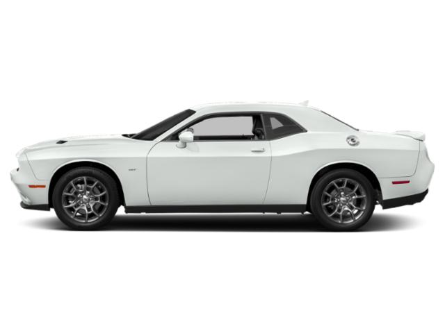 White Knuckle Clearcoat 2018 Dodge Challenger Pictures Challenger GT AWD photos side view