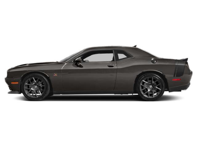 Granite Pearlcoat 2018 Dodge Challenger Pictures Challenger T/A 392 RWD photos side view