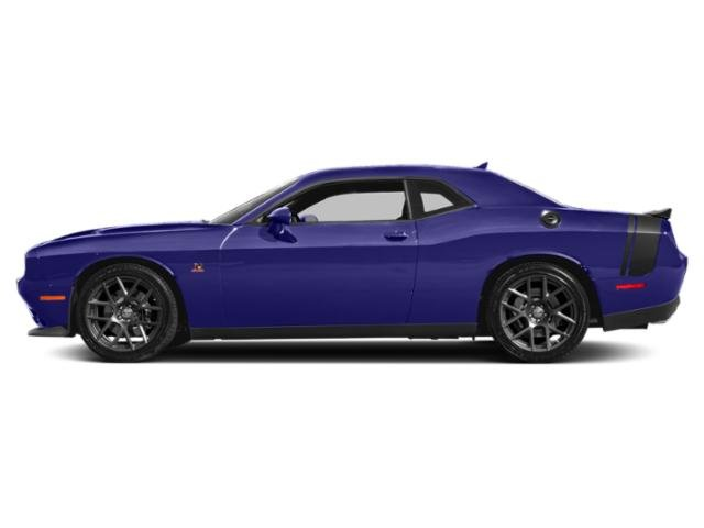 Plum Crazy Pearlcoat 2018 Dodge Challenger Pictures Challenger Coupe 2D R/T Scat Pack V8 photos side view