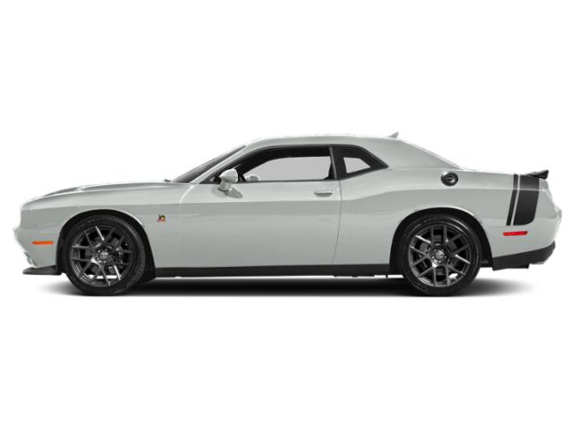 White Knuckle Clearcoat 2018 Dodge Challenger Pictures Challenger Coupe 2D R/T Scat Pack V8 photos side view